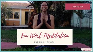 "Kostprobe ""Meditation"" aus dem Mini-Yogakurs ""Abendentspannung"""