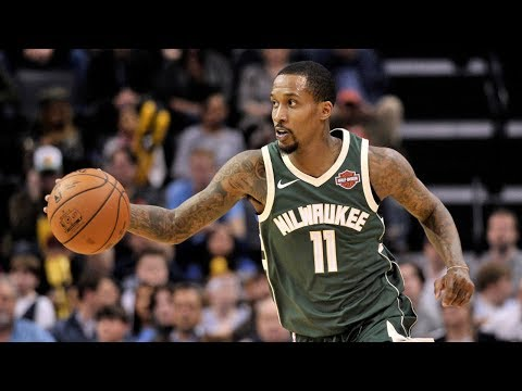 Brandon Jennings Bucks Return Near Triple Double! 2017-18 Season