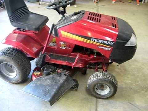 Murray 16 46 Riding Mower Youtube