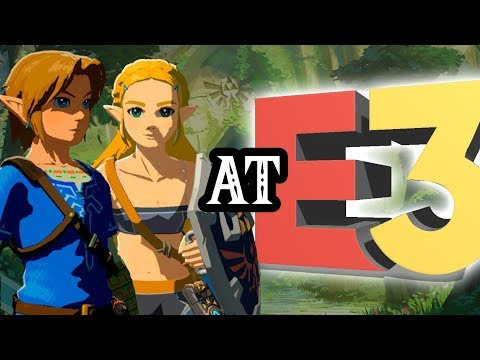 New Zelda Switch Game at E3 2018? + Playable BotW Princess Zelda!