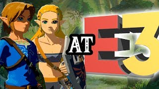 New Zelda Switch Game at E3 2018? + Playable BotW Princess Zelda!