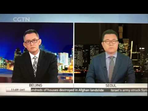 Korean Lawyer Jaesung Hong's Interview on Trade Disputes at CGTN