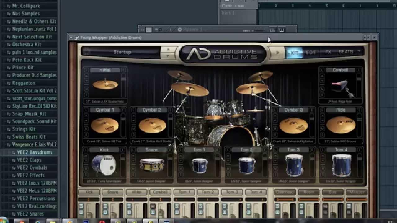 Como Instalar o XLN Audio Addictive Drums No fl Studio 11 0