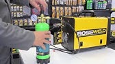 Bossweld MST185 Multipurpose Welder - YouTube
