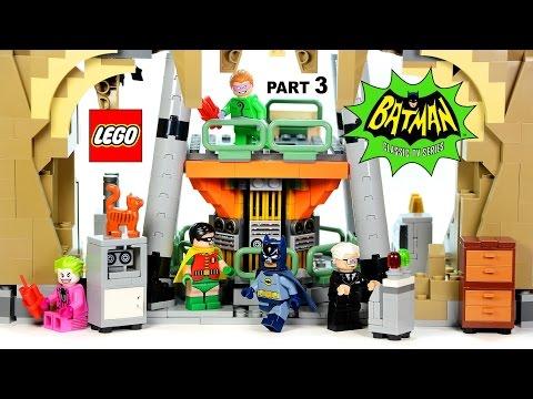 LEGO® DC Comics™ The Batcomputer 76052 Batman Classic TV Series Part 3 Speed Build