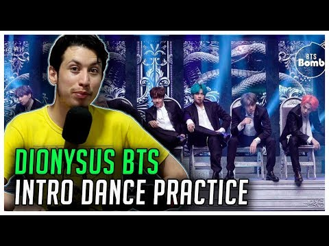 REAGINDO À  BTS (방탄소년단) 2019 MMA 'Dionysus' Intro Performance Dance Practice