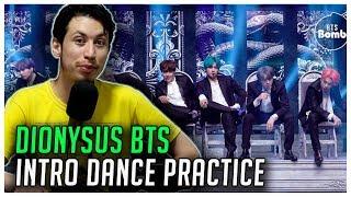 REAGINDO À BTS (방탄소년단) 2019 MMA 'Dionysus' Intro Performance Dance Practice