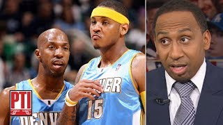 Download Stephen A. calls Chauncey Billups' comments on Carmelo Anthony 'devastating' | PTI Mp3 and Videos