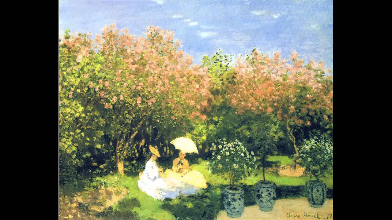 Video Pittura Impressionista Claude Monet Impressionismo Hd