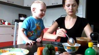 Готовим вкусно и полезно для детей Рулеты с куриной грудкой