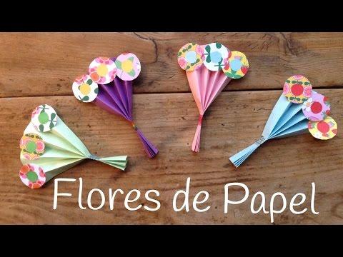 Ramo de flores de papel estupendo para el día de la madre