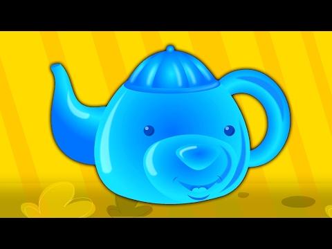 Ich bin eine kleine teekanne | Reim für Kinder | Baby Songs | Children Rhyme | I Am A Little Teapot