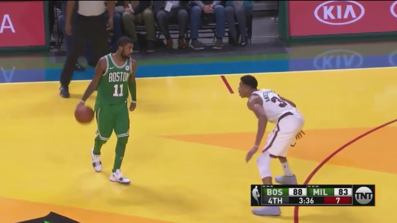 Kyrie Irving Takes Giannis Mano a Mano 4th Quarter - YouTube 242672e39