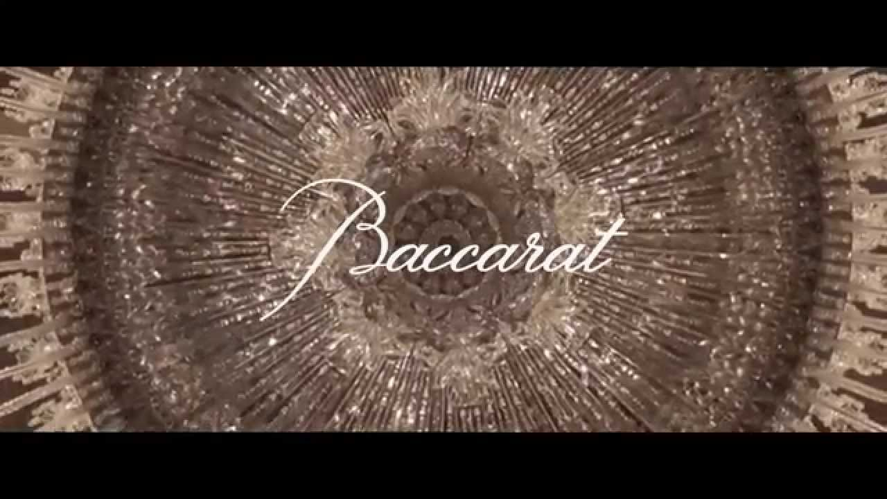 Baccarat Petit Palais Lustre 250 Lumières Youtube