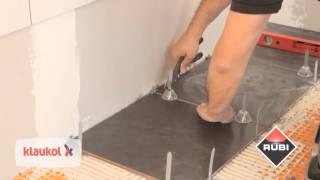 Cómo colocar cerámicos en piso desnivelado - Rubí Tile Level