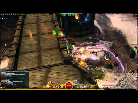 Guild Wars 2 - WvWvW - Defiance sets up on Sea of Sorrows (Pt. 1)