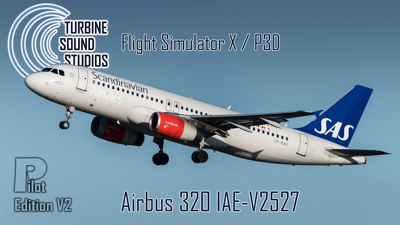 Just Flight - TSS Airbus 320 IAE-V2527 Pilot Edition v2
