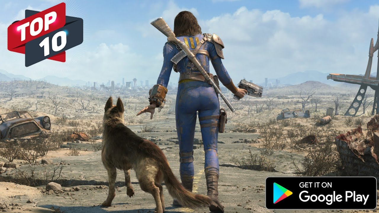 Top 10 Android Game Same as PC Games [High Graphics -2019]