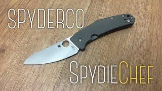 Unique, Excellent: Spyderco Spydiechef Review