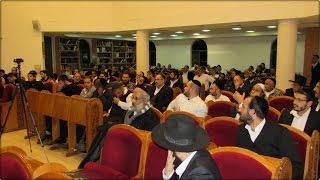 הרב יעקב בן חנן - הרצאה בחדרה מהות ימי השובבים היא לתקן את הברית ולהיות כלי ברכה לקבל את כל הטוב