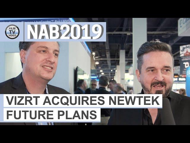 NAB2019: Vizrt buys NewTek – view of the CTOs