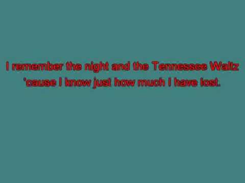Pee Wee King   Tennesse Waltz [Karaoke]