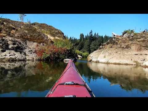 Kayaking Willamette River : The Narrows