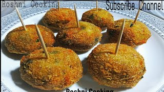 Potato Lollipop easy nd Quick Recipe/Recipe by Roshni Cooking
