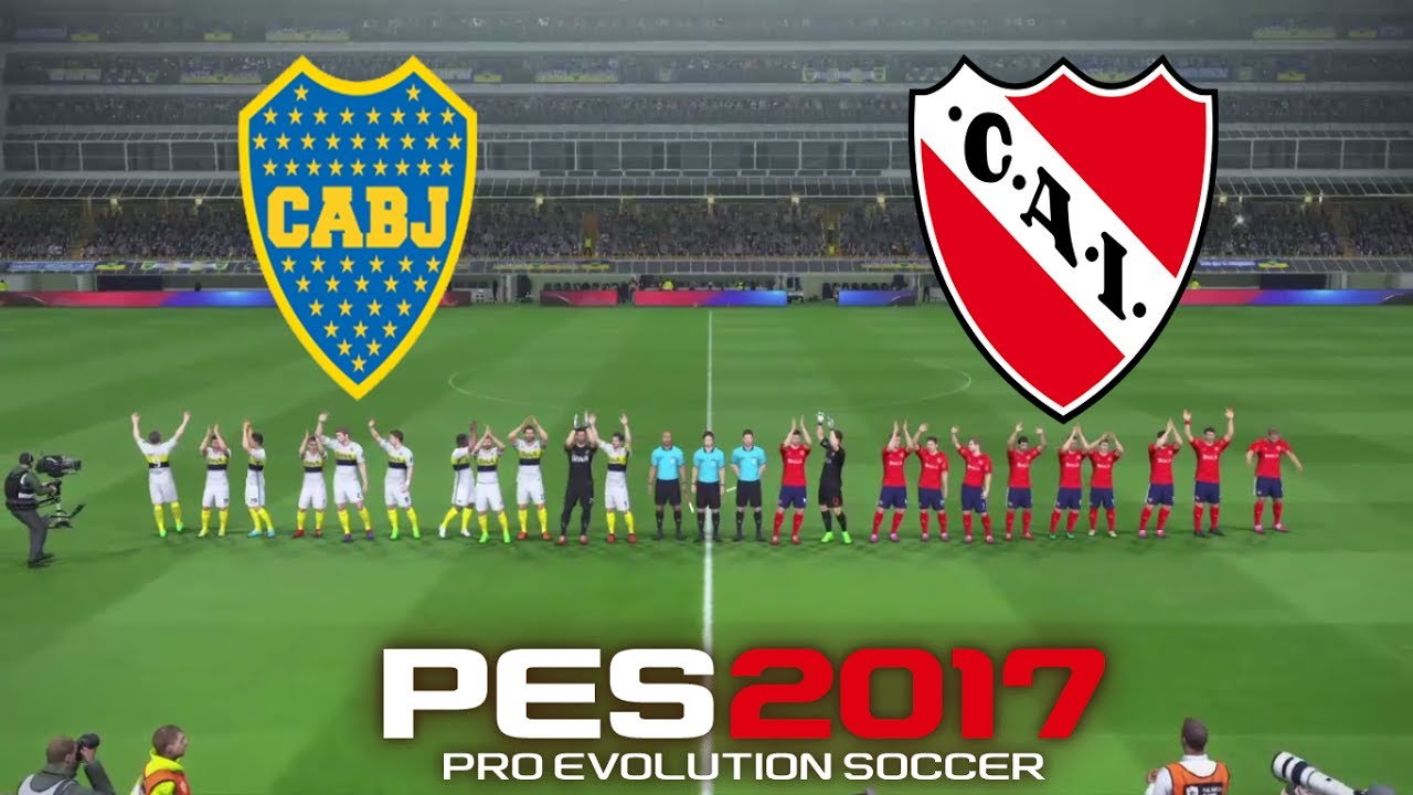 Boca Juniors Vs Indepen Nte  Que Final Con Canticos De Boca Simulacion Pes