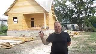 видео Д-34 Дом из бруса 9x9 м