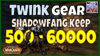 WoW 6.2 Shadowfang Keep Gold Farming Guide 500 - 60000 Gold Twink gear, WoD Farm Guide