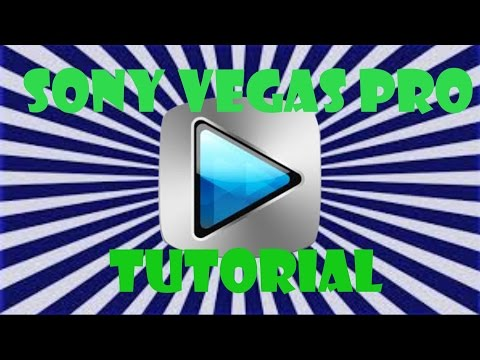Sony Vegas Tutorial #1 How To Sync Montage Clips To Music