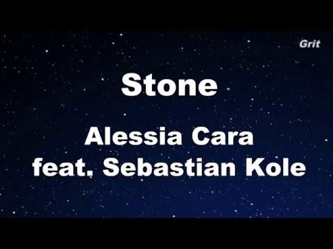Stone - Alessia Cara Karaoke ft. Sebastian Kole 【With Guide Melody】Instrumental