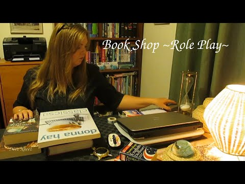 Book Exchange Role Play  ASMR