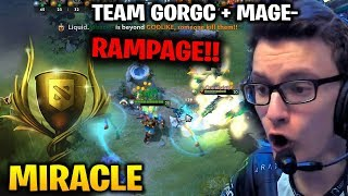 MIRACLE BATTLE CUP RAMPAGE vs TEAM GORGC and MAGE-
