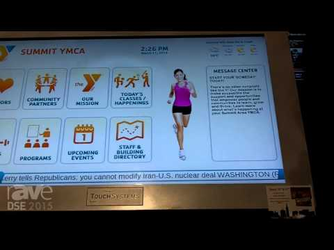 DSE 2015: TouchSystems Showcases 47-Inch Kiosk Information Station With Sharp Touch Display