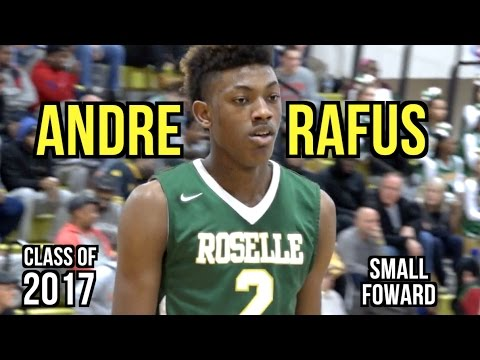 Andre Rafus Highlights | Class of 2017 Basketball | 6