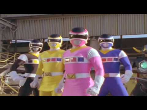 Power Rangers Lost Galaxy Here are the Space Rangers