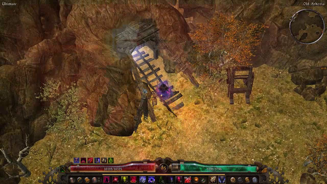 Grim Dawn - Chaos melee Witch Hunter gameplay + Fabius easy kill by  kos9k01569