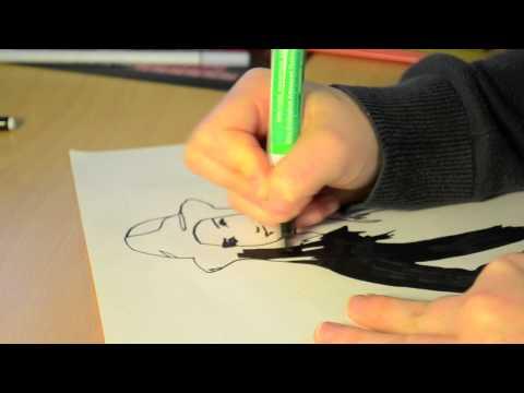 Speed Drawing  Hayley McFarland