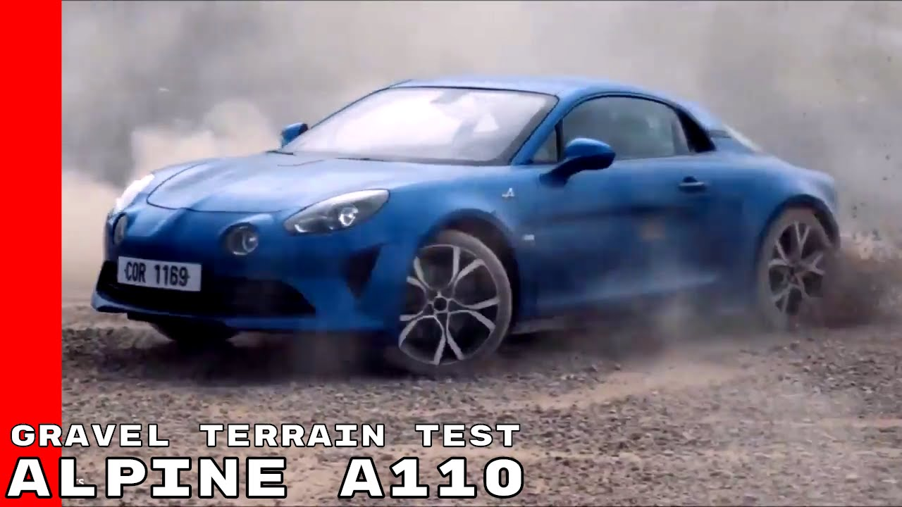 2018 alpine a110 gravel terrain test youtube. Black Bedroom Furniture Sets. Home Design Ideas