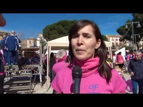 Corsa Rosa 2017 - Telesardegna intervista Carla Fadda