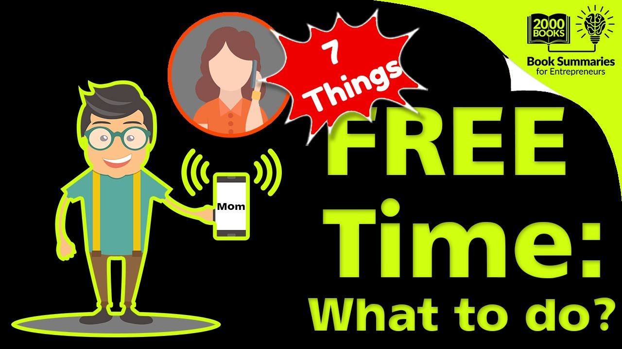 best things to do in your free time