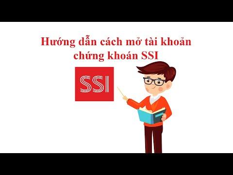 Hướng dẫn cách mở tài khoản chứng khoán SSI
