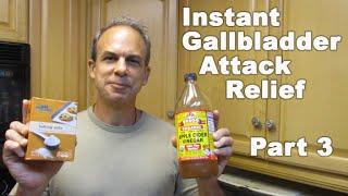 Gallbladder Attack Remedy Relief - 5 POWERFUL Gallbladder Attack Remedy INSTANT Recipes PART 3
