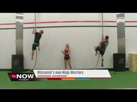 University of Wisconsin trio to compete on &39;Team Ninja Warrior: College Madness&39;