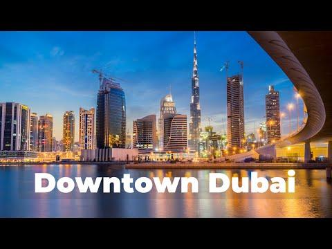 Part 2: Downtown Dubai Walking Tour 2021 I Chef Par Vlogs