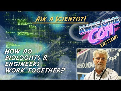 How do biologists and engineers work together?