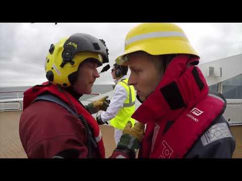 Training Iceland CoastGuard & Le Soleal