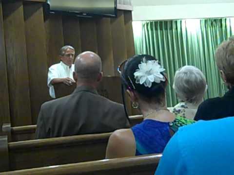 David Wilson's Memorial Service